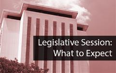 Legislative Session-what to expect